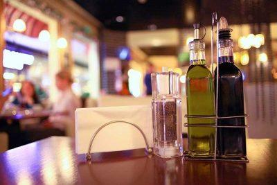 Seasoning restaurant on the table, New York Restaurant Insurance