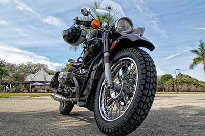Black scrambler motorcycle, New York Motorcycle insurance